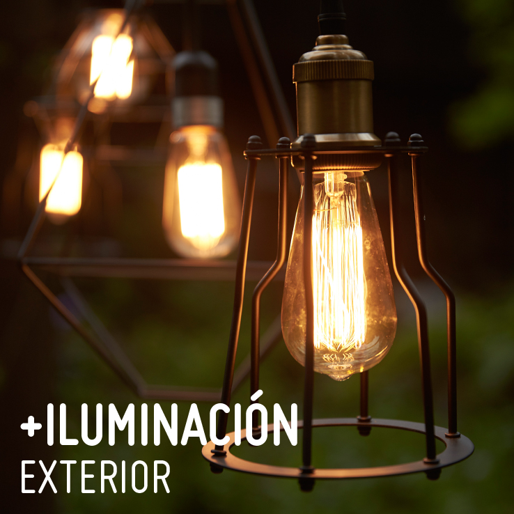 Decoracion con luces exterior patio exterior prgola - Iluminacion decorativa exterior ...