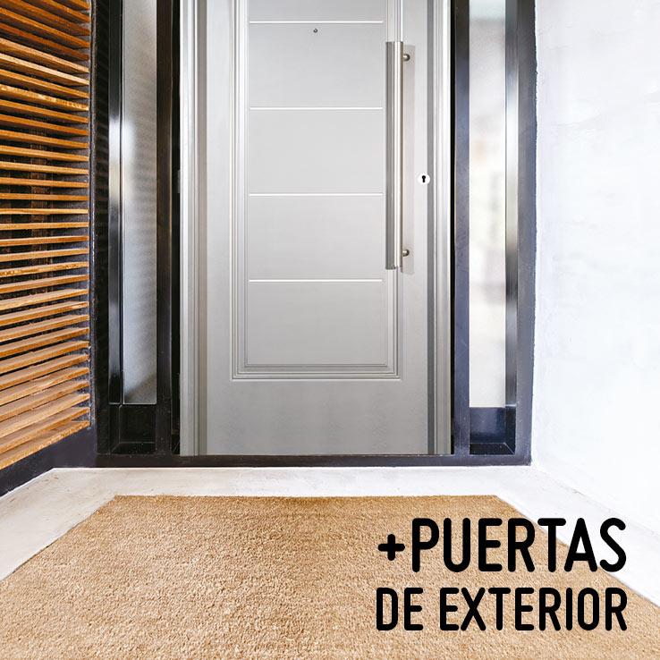 Puertas exterior madera madrid toledo guadalajara segovia for Puertas de exterior baratas